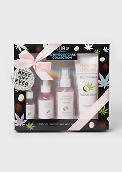 4-Pack Hemp Body Care Gift Set