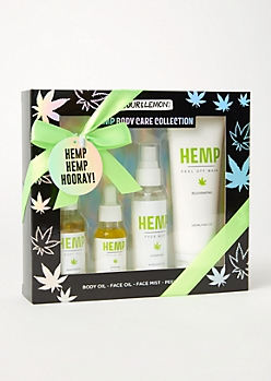 4-Pack Hemp Beauty Gift Set