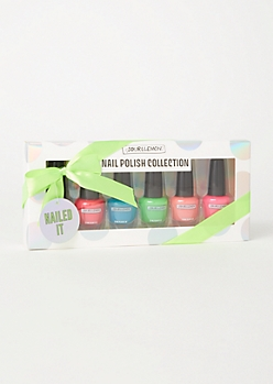 6-Pack Neon Nail Polish Gift Set