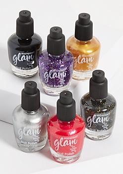 6-Pack Shimmer Nail Polish Set