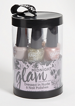 6-Pack Nude Nail Polish Set