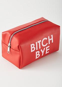 Red Bye Makeup Bag