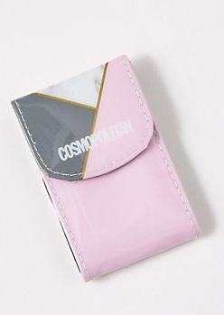 Pink Asymmetrical Manicure Set