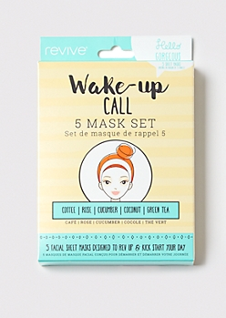5-Pack Wake Up Call Sheet Mask Set