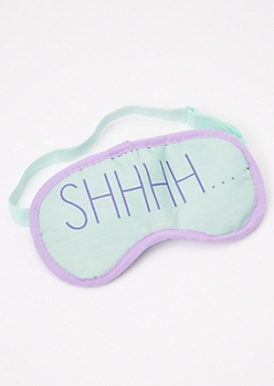 Pink Ultra Soft Sleep Mask