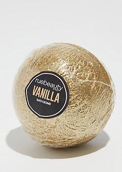 Gold Vanilla Glitter Bath Bomb