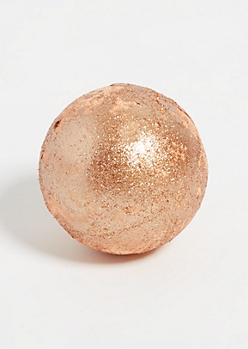 Rose Gold Glitter Bath Bomb
