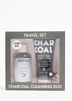 Charcoal Cleansing Travel Set