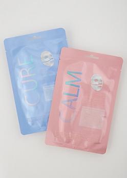2-Pack Cure Face Mask Set