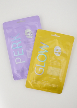 2-Pack Perk Face Mask Set