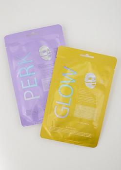 2-Pack Perk Face Mask Set