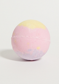 Pink Strawberry Slime Bath Bomb