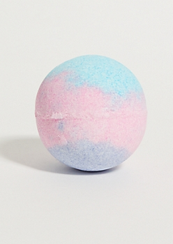 Blue Coconut Slime Bath Bomb