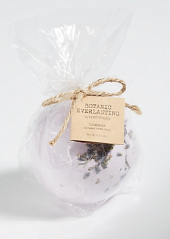 Purple Botanic Everlasting Lavender Bath Bomb