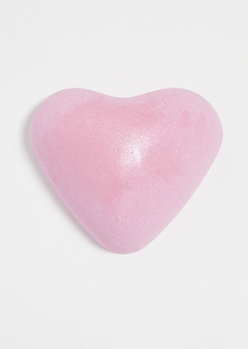 Pink Heart Bubble Gum Oversized Bath Bomb