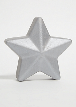 Silver Star Coconut Oversized Bath Bomb