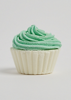 Mint Chocolate Chip Cupcake Bath Fizz