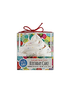 Birthday Cake Bath Fizzy Cupcake By Fizz & Bubble
