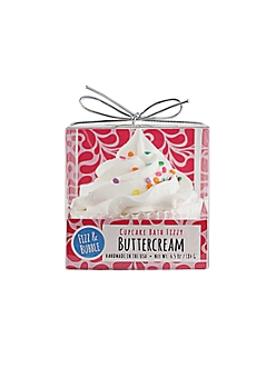 Buttercream Bath Fizzy Cupcake By Fizz & Bubble