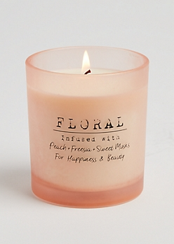 Me Floral Infused Candle