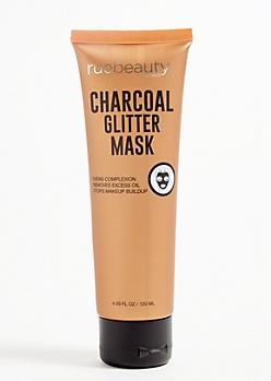 Charcoal Glitter Face Mask
