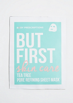 Skin Care Tea Tree Pore Refining Sheet Mask