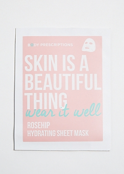 Skin Care Rose Hip Hydrating Sheet Mask
