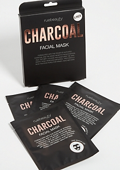 4-Pack Charcoal Facial Mask