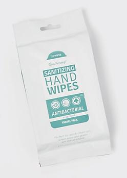 20-Pack Aloe Anti Bacterial Wipes