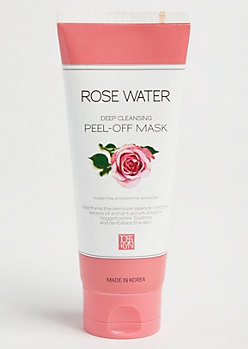 Rose Water Deep Cleansing Peel Off Face Mask