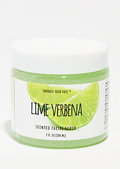 Lime Verbena Scented Facial Scrub
