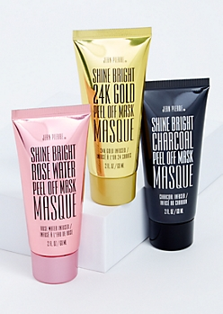 3-Pack Shine Bright Peel Off Face Mask Set