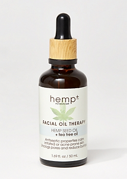 Hemp Seed Tea Tree Face Oil