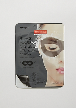 Black Food MG Gel Eye Zone Mask By Purederm
