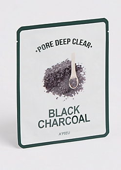 Black Charcoal Sheet Mask By A