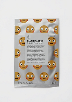 Project M Emoji Blush Sheet Face Mask