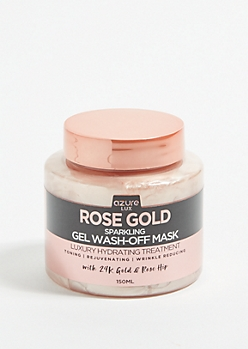 Rose Gold Sparkling Mud Face Mask
