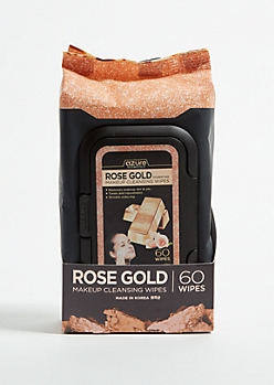 Rose Gold Hydrating Makeup Cleansing Wipes