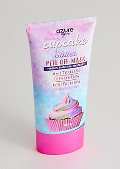 Strawberry Cupcake Glitter Peel Off Face Mask