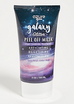 Purple Cosmic Glitter Peel Off Face Mask
