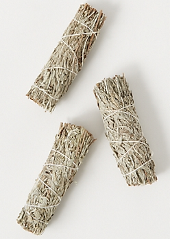 3-Pack Blue Sage Smudge Stick Set