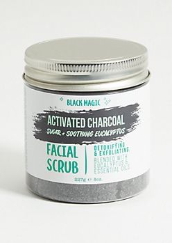 Black Magic Charcoal Eucalyptus Sugar Scrub