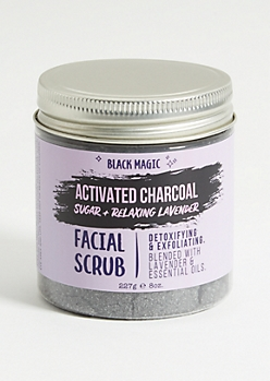 Black Magic Charcoal Lavender Sugar Scrub