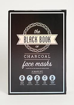 10-Pack Charcoal Black Book Face Mask Set