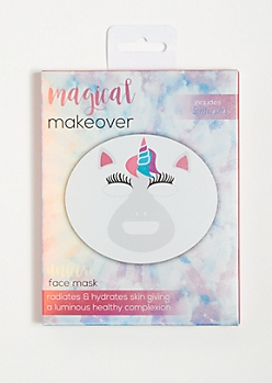 Unicorn Hydrating Sheet Face Masks