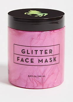 Pink Glitter Peel Off Face Mask