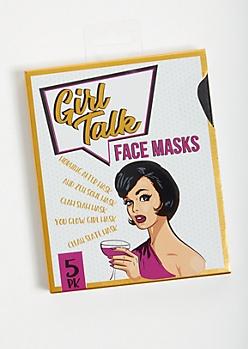 5-Pack Smoothing Mixed Infusion Sheet Face Masks