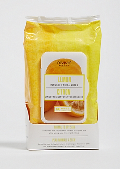 Lemon Brightening Cleansing Face Wipes