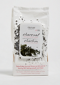 Charcoal Detoxifying Cleansing Face Wipes