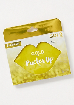 5-Pack Gold Lip Mask Set
